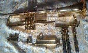 My yamaha trumpet