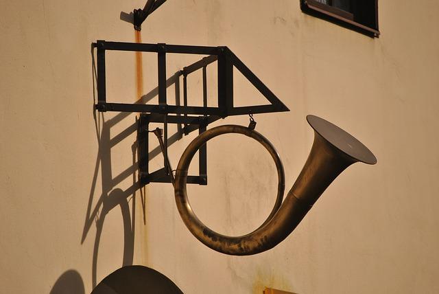 a post horn