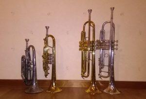 Cornets vs. trumpets