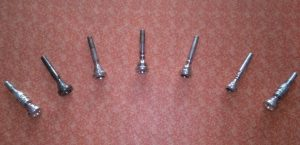 Different trumpet mouthpiece sizes