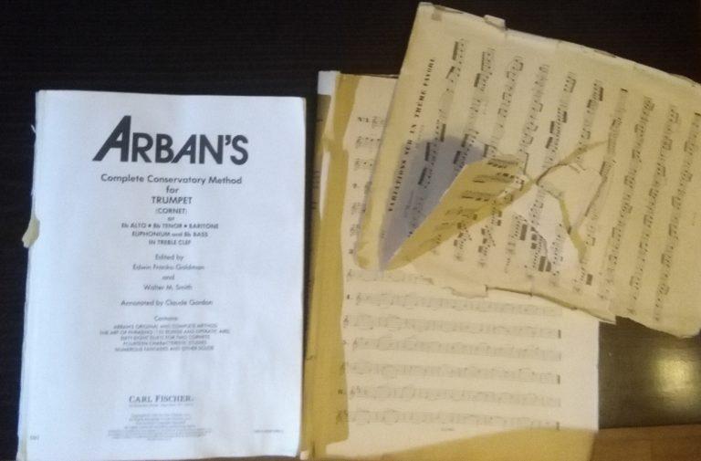 arbans trumpet method book exercises